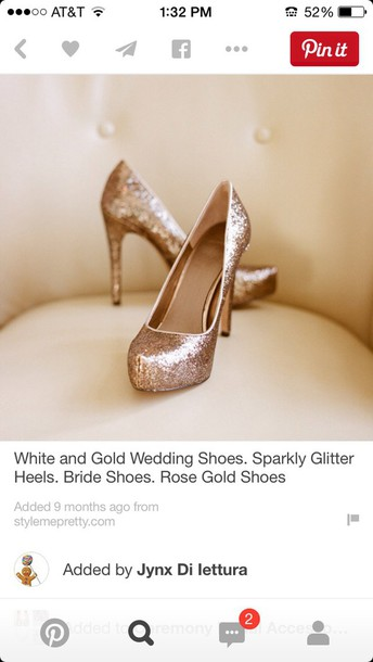 shoes high heels gold high heels