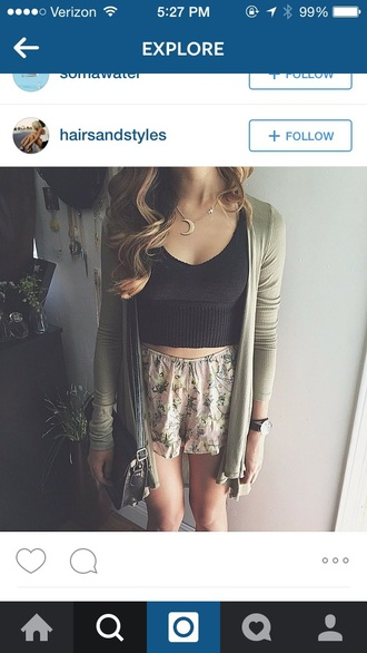 top crop tops knit sweater cropped sweater knitted sweater cable knit crop sweater cardigan skirt shorts