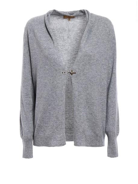 FAY cardigan cardigan wool grey sweater