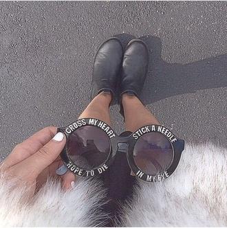 sunglasses cross my heart hope to die black sunglasses fashion cross my heart hope to die