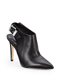 Ivanka Trump - Sardi Leather Point-Toe Ankle Boots
