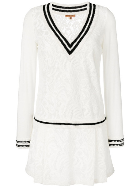 dress sweater dress women white