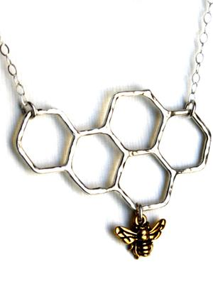 rachel pfeffer designs - Sterling Silver Honeycomb Necklace | VAULT
