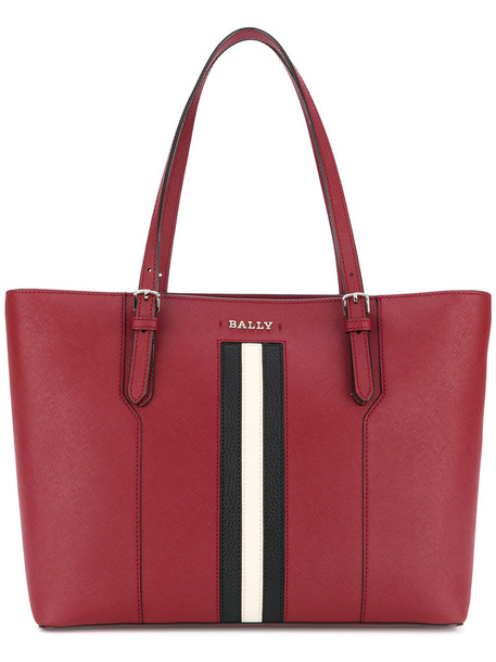 Bally women leather red bag
