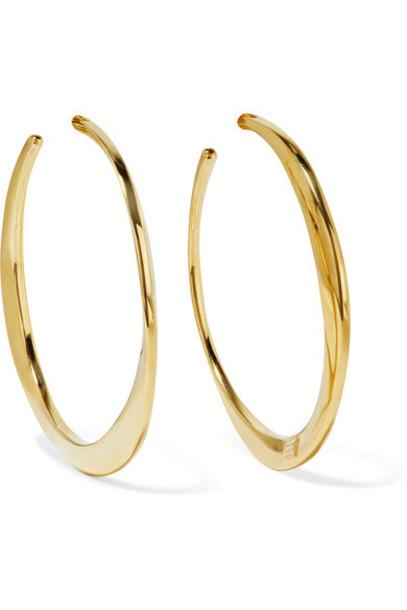 Ippolita earrings hoop earrings gold jewels