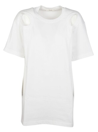 t-shirt shirt long white top