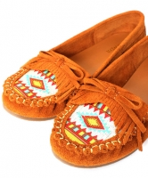 Ethnic-designed Moccasin - RANDA