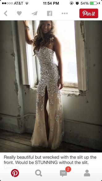 dress prom dress prom gown slit dress formal dress beautiful dress
