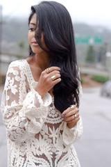 Sirenlondon — lace delight top