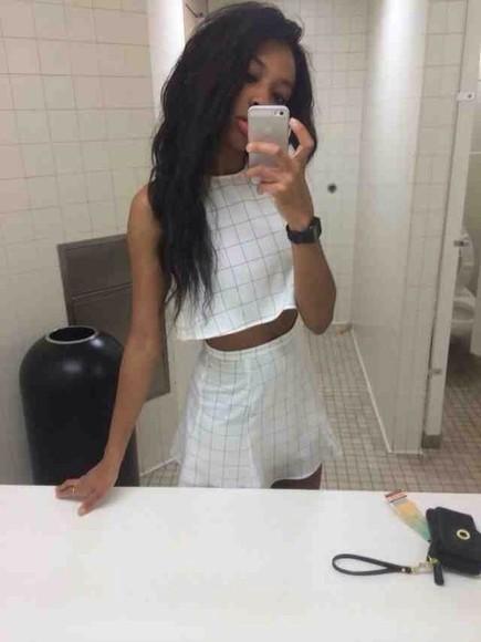 shirt t-shirt skirt black dress tank top white white dress pale grunge grunge soft grunge soft ghetto