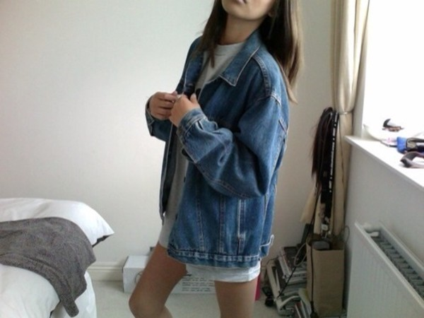 jacket denim denim jacket hipster