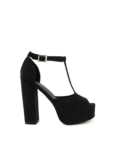 Chunky T - Bar - Nly Shoes - Zwart - Uitgaansschoenen - Schoenen - Vrouw - Nelly.com
