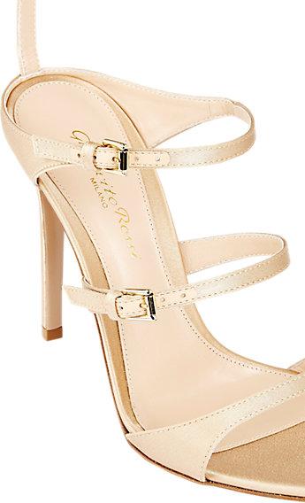 Gianvito Rossi Triple-Strap Sandals at Barneys.com