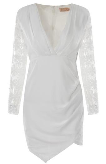 Little Sexy White Lace Dress