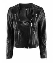 jacket,black,leather jacket,leather,biker jacket,h&m,streetwear