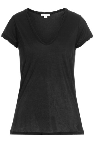 t-shirt shirt cotton t-shirt cotton black top