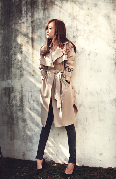 Maccia trench coat