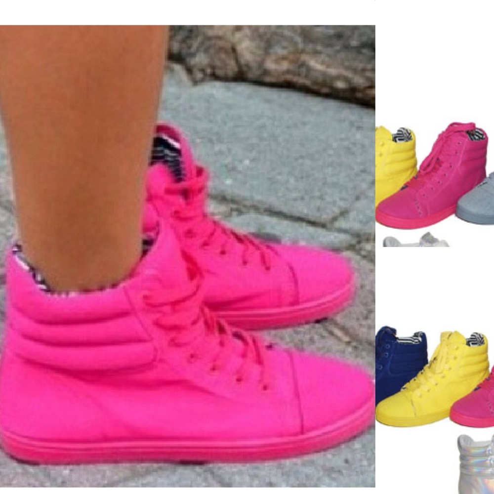 High Top Sneakers — Fashion Junkie