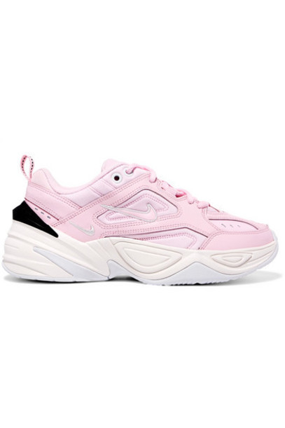 baby sneakers leather pink baby pink neoprene shoes