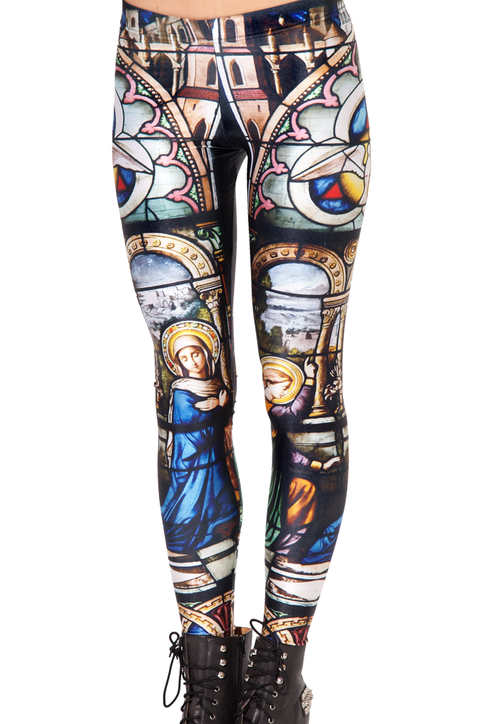 Cathedral leggings