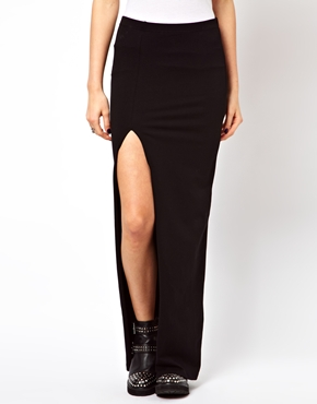 ASOS | ASOS Maxi Skirt with Thigh High Split at ASOS