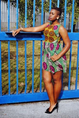 zelda and festus blogger jewels wax black heels dress