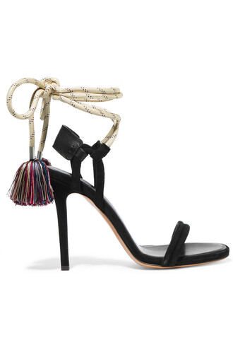 shoes isabel marant ankle tie sandals