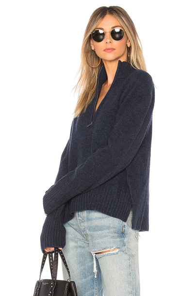360CASHMERE sweater blue