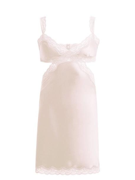 light pink light lace pink satin underwear