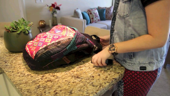 bag backpack boho beautybaby