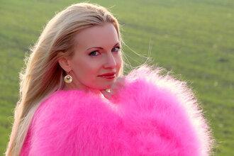 sweater hand knit made mohair pink dress supertanya fluffy soft