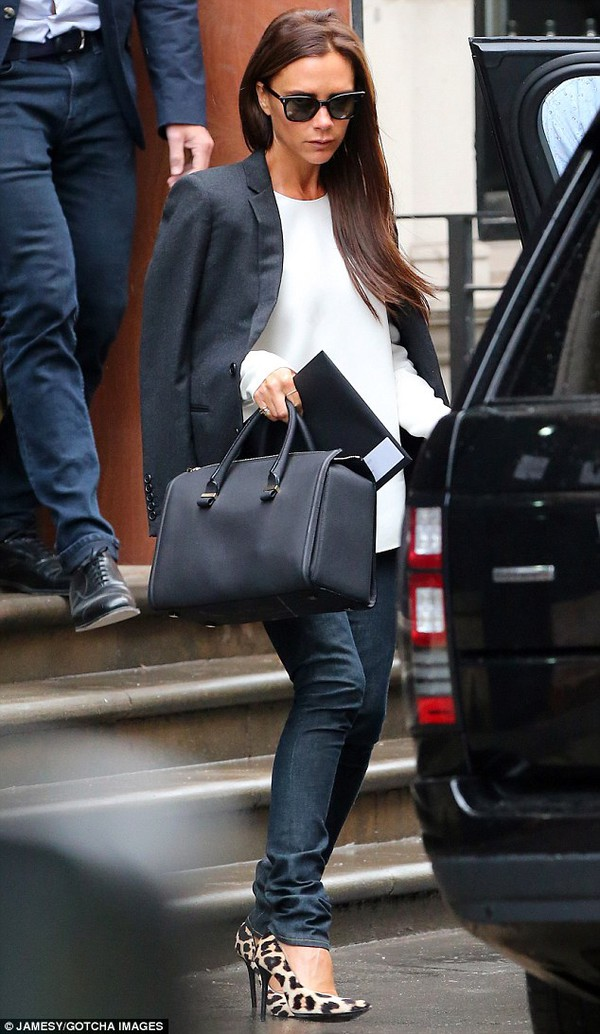 shoes victoria beckham bag