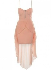 dress,pink,light pink,pretty in pink,zip,high-low dresses,mini,sheer,pinterest,found on pintrest