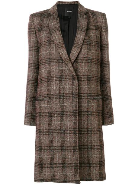 coat women plaid wool