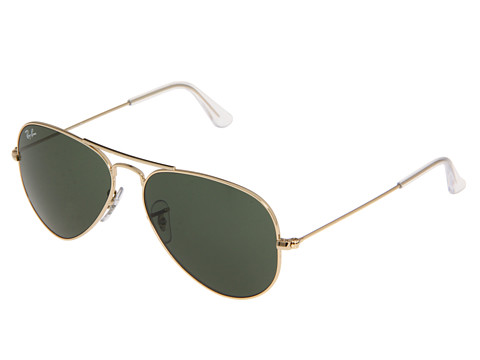 Ray-Ban 3025 Aviator size 55mm  Arista/G-15 Xlt Lens - Zappos.com Free Shipping BOTH Ways