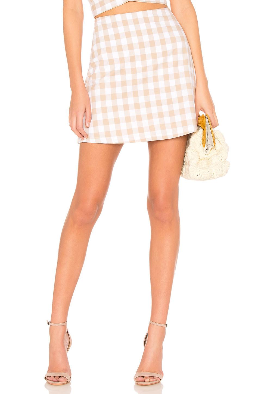 Backstage Monte Carlo Skirt in beige / beige