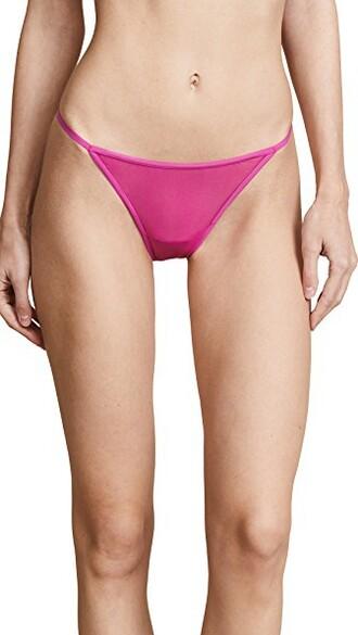 thong bright underwear