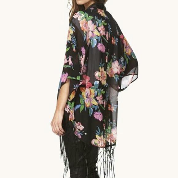 The New Floral Kimono