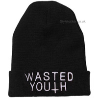 WASTED YOUTH, COMMES THE FUCK DOWN, ETC BEANIES on The Hunt