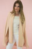 Alyssa Cape Blazer - Blush – Haute & Rebellious
