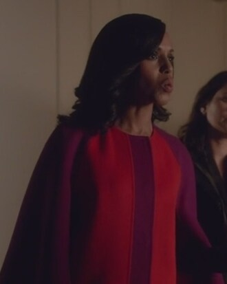 coat wool cape scandal kerry washington olivia pope fendi