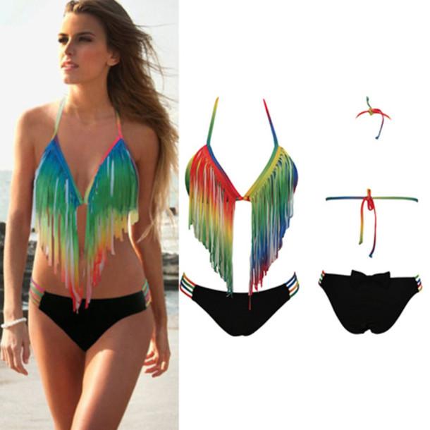 1d127efe99 swimwear bikini fashion beautiful pretty clothes classy trendy women cool  new cute sexy summer beach