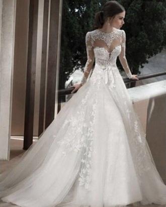 dress wedding wedding dress white white dress