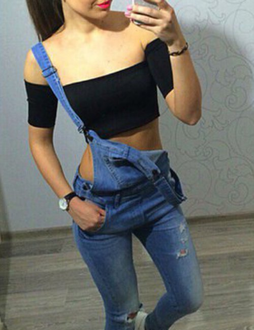 Women's Sexy Cocktail Cropped Top