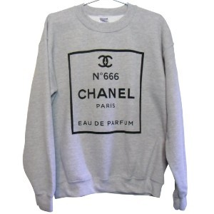 CHANEL NO. 666 SWEATSHIRT (SELECT SIZE) on The Hunt