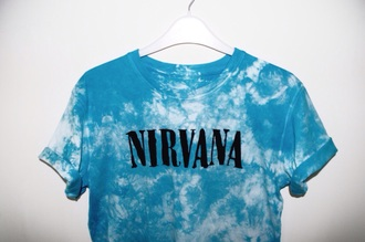 nirvana t-shirt cool rock band