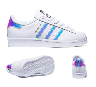 shoes adidas trainers addidas superstars tumblr adidas superstars adidas originals adidas shoes sneakers holographic low top sneakers white sneakers white sweater iridescent adidas irredescent adidas superstars