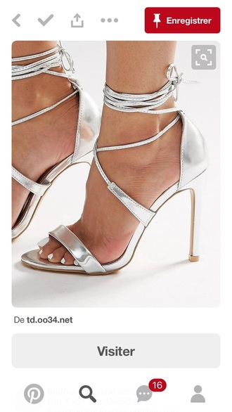 shoes delicate strappy high heels stilettos