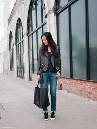 andy heart jacket bag jeans shoes superga