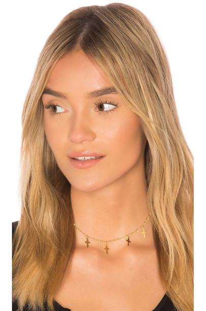 Frasier Sterling metallic gold jewels